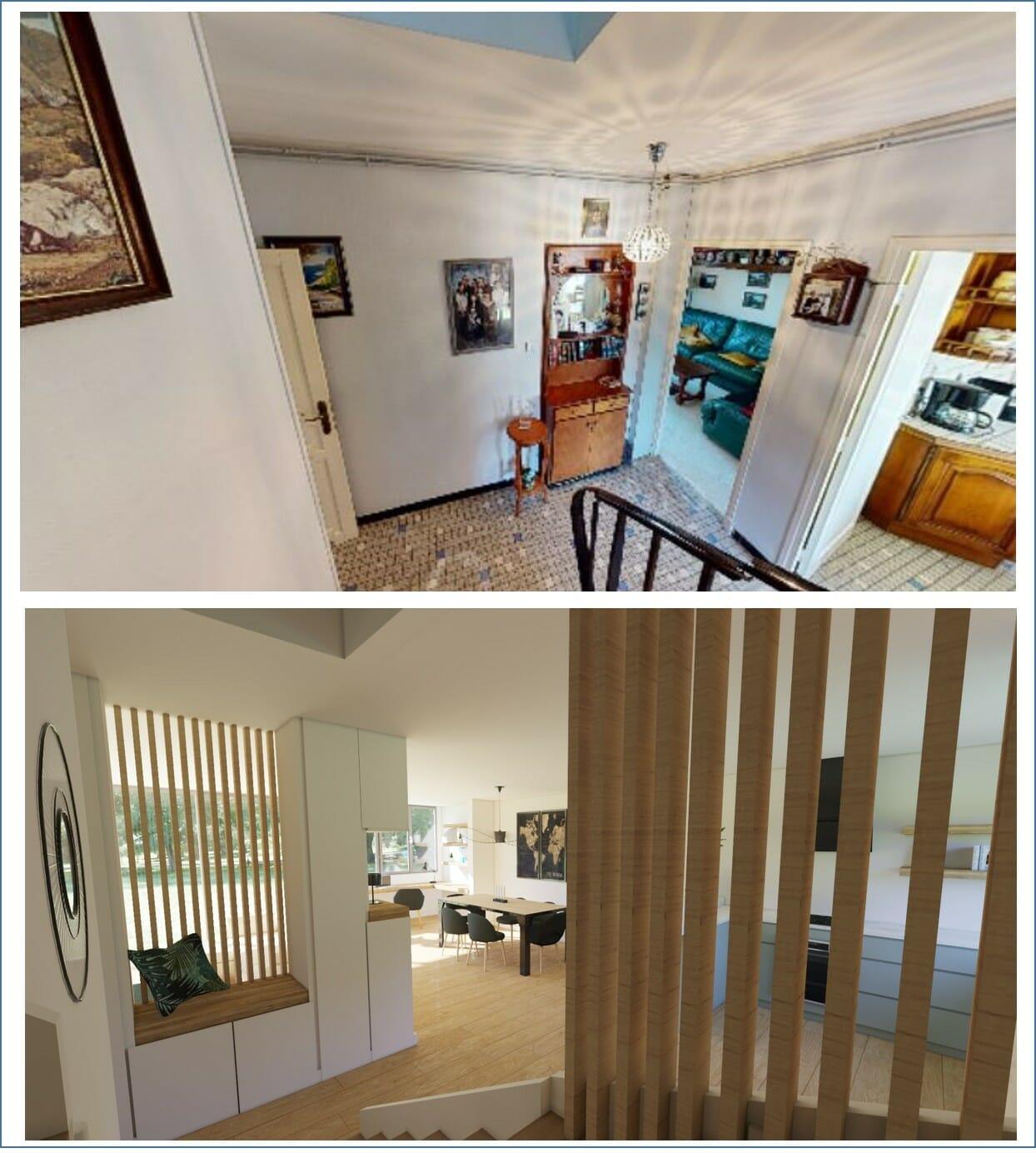 URBANHOUSE360-escalier_AvantApres