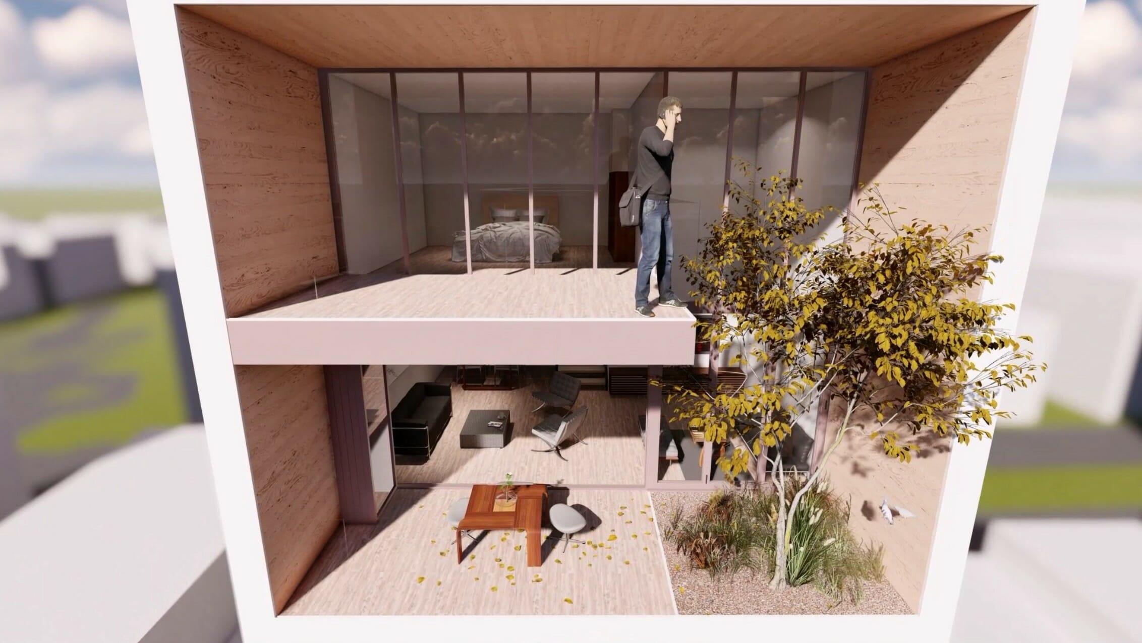 UrbanHouse360-Duplex-aménagé