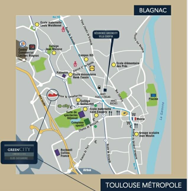 UrbanHouse360-Clos-Cassandre-MapBlagnac