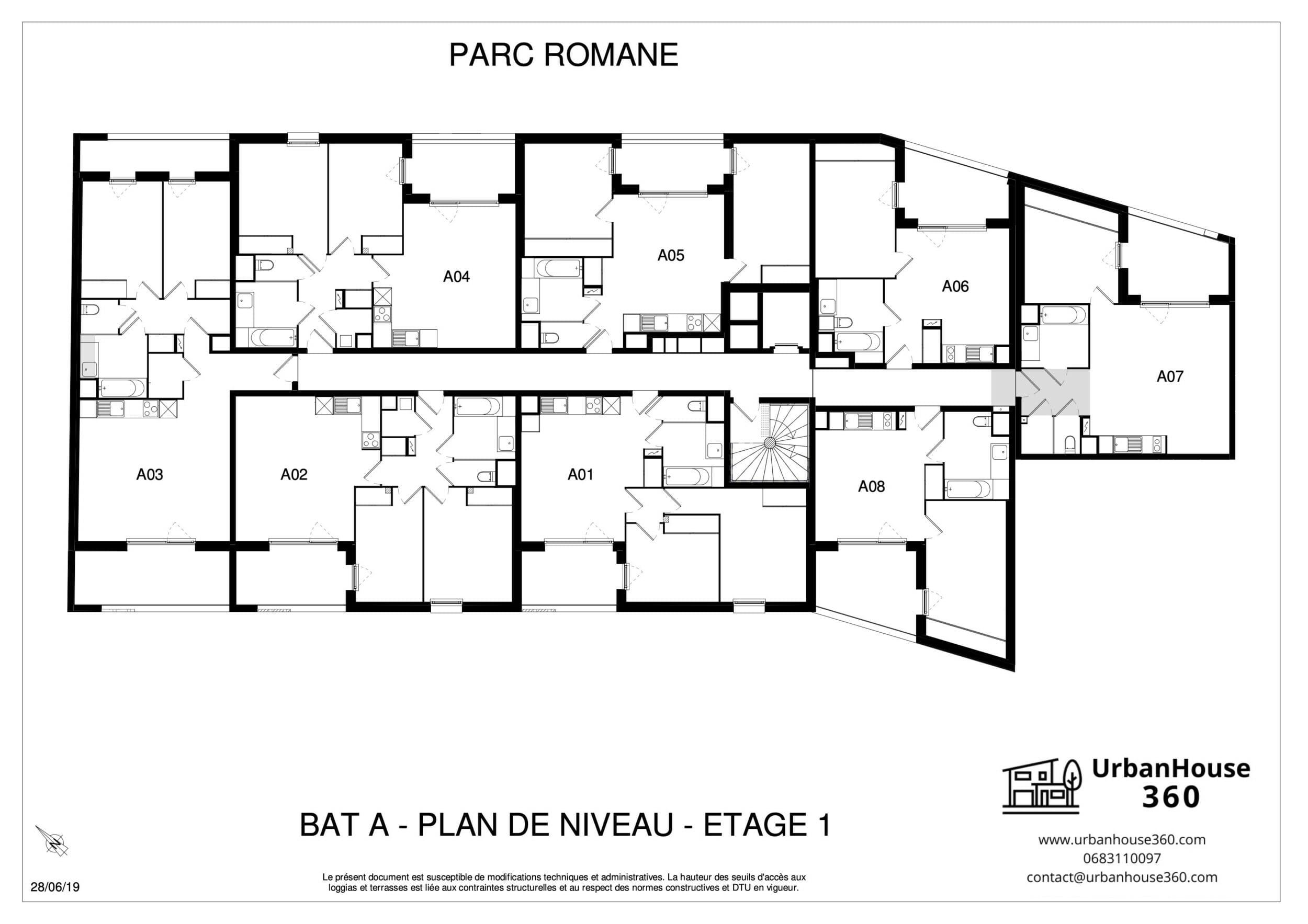 UrbanHouse360_plans_de_niveau_a-b-c-_parc_romane 2