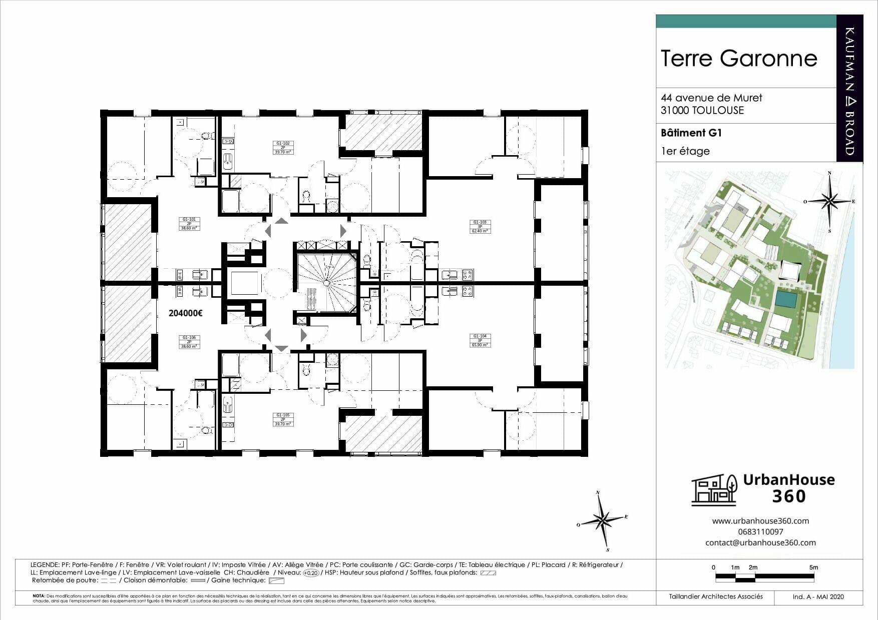 Urbanhouse360-Kaufman-Broad-Terre-Garonne_G1-R+1_2D 2
