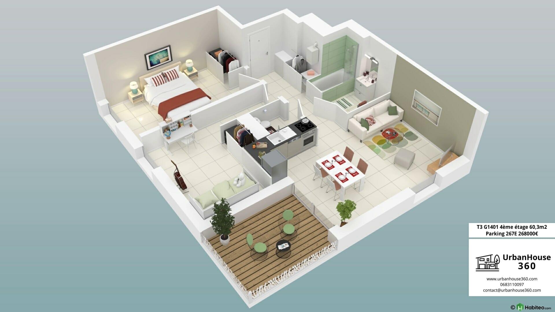 Urbanhouse360-Kaufman-Broad-Terre-Garonne_G1401_3D