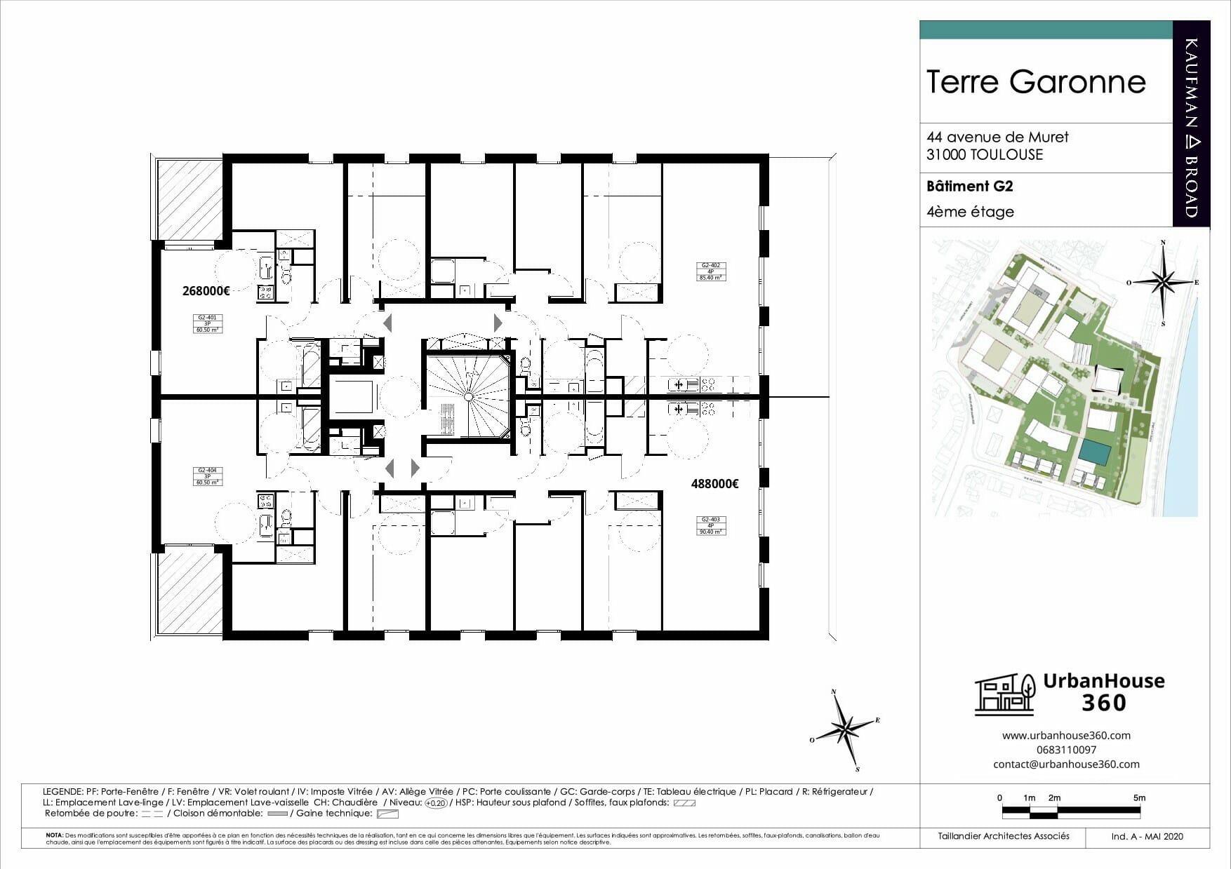 Urbanhouse360-Kaufman-Broad-Terre-Garonne_G2-R+4_2D 2