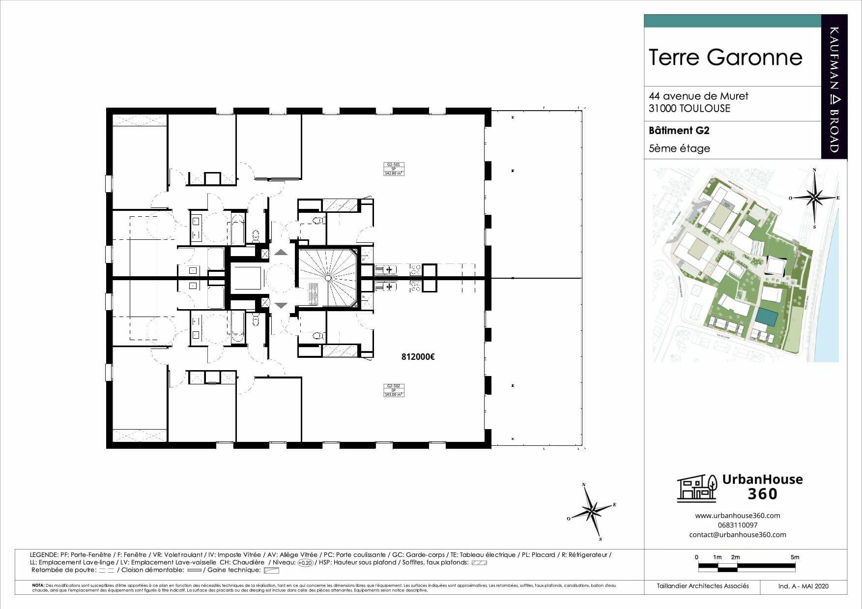 Urbanhouse360-Kaufman-Broad-Terre-Garonne_G2-R+5_2D 2