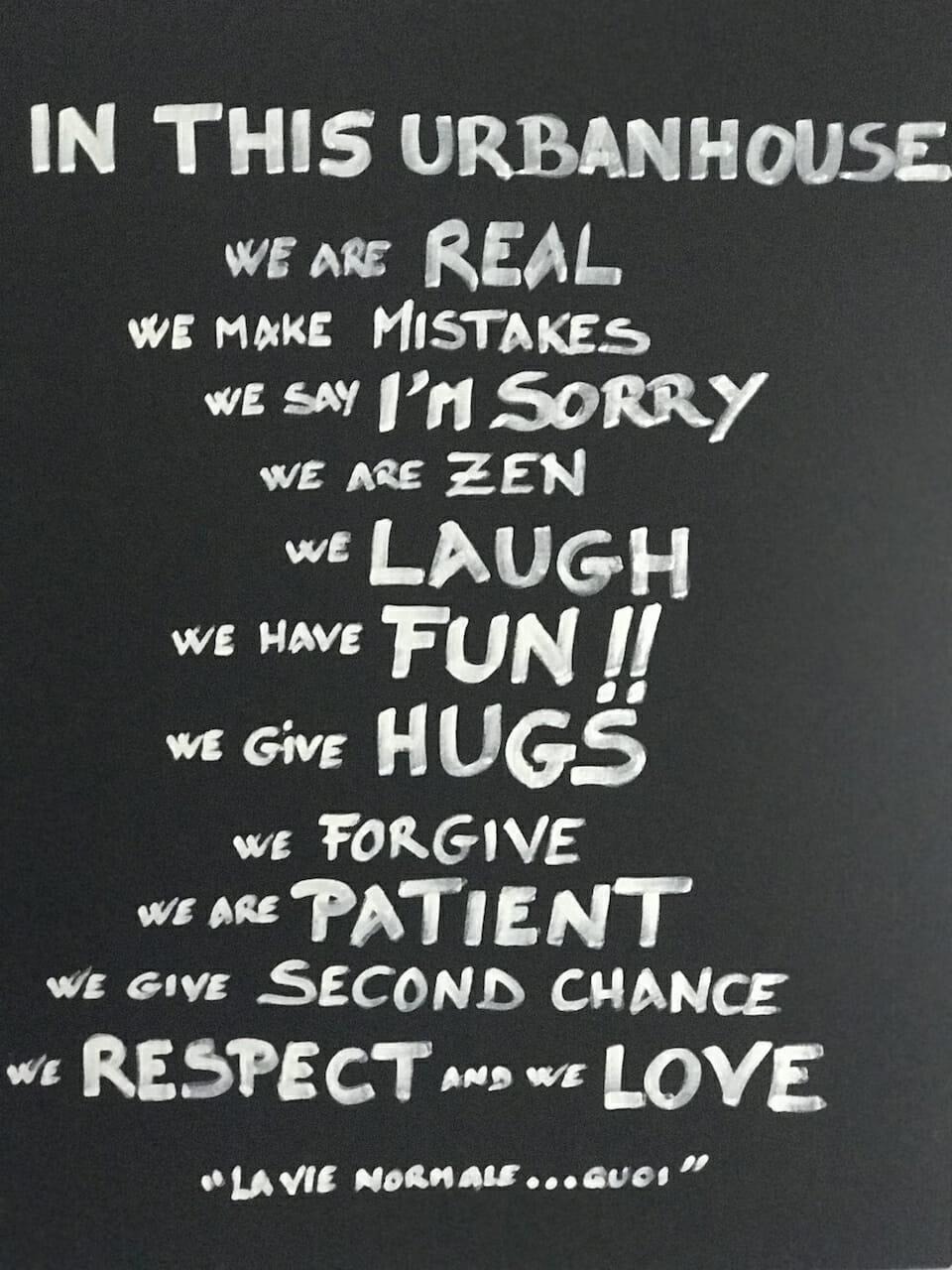 Uurbanhouse360 - Charte - We are