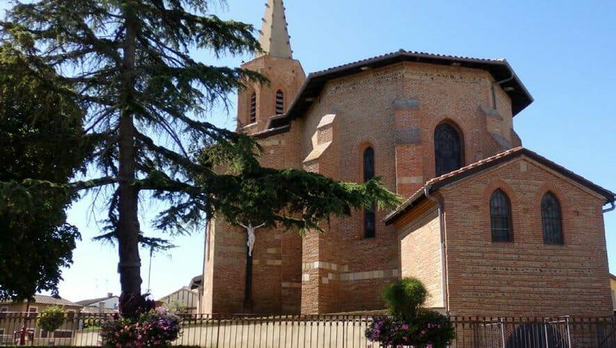 église d'Aussonne coeur de village