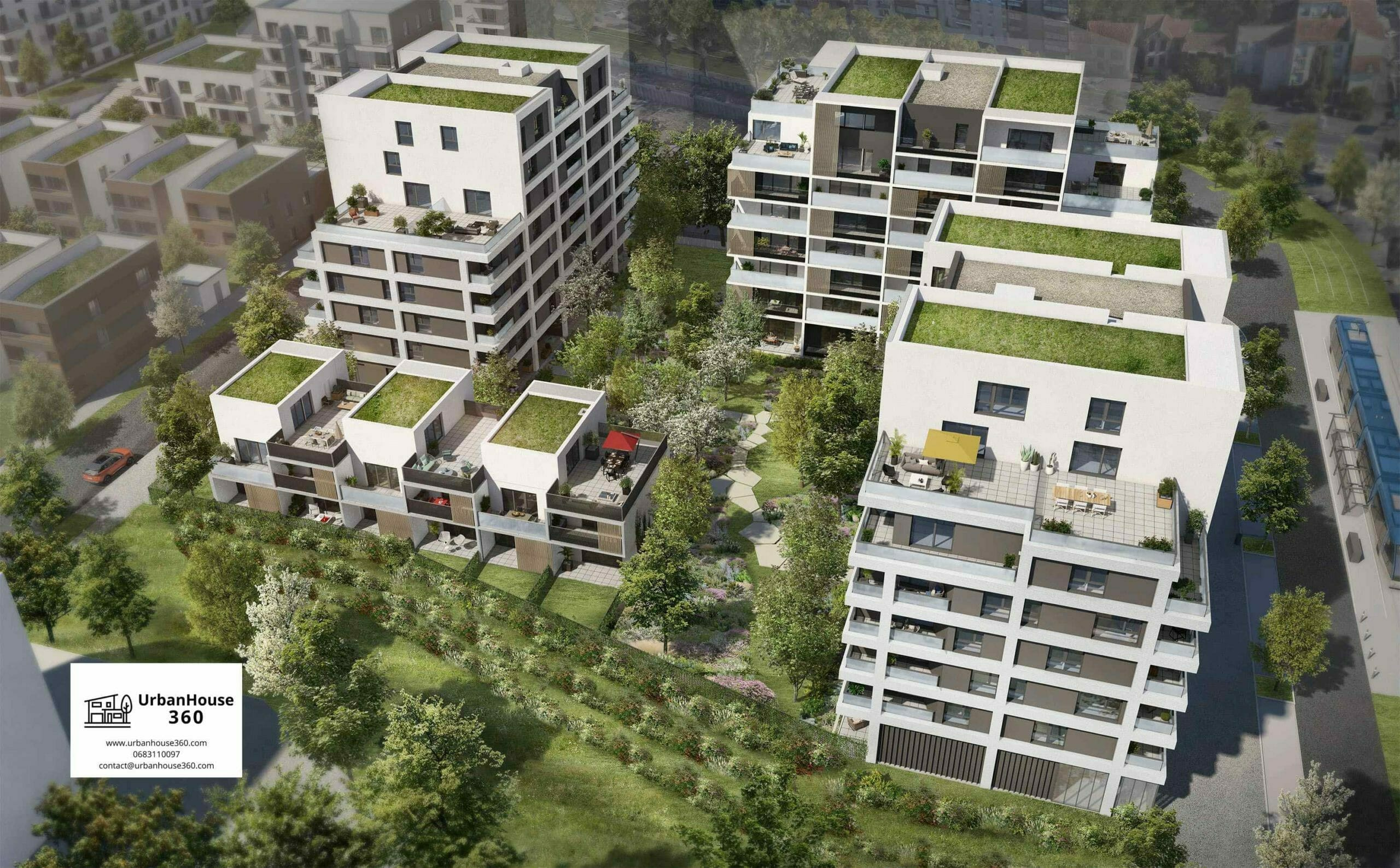 UrbanGarden-Villas-vue-aérienne